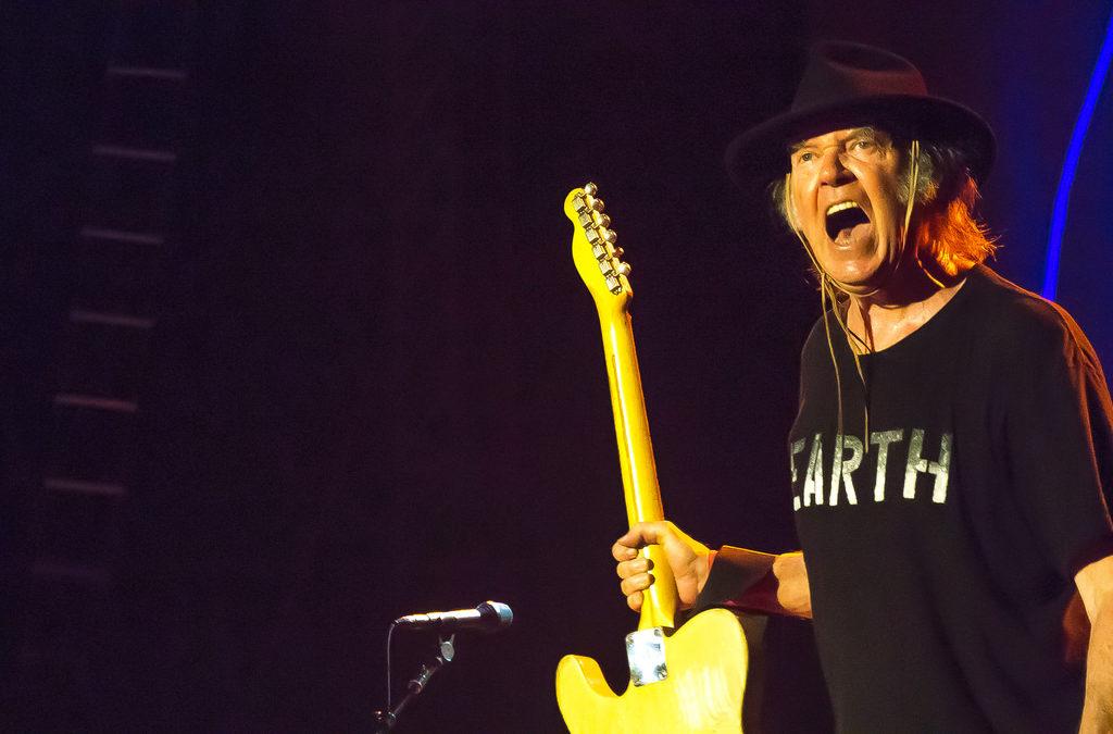 Resurrezione -Ph: Takahiro Kyono Neil Young & Crazy Horse - Zollhafen / Nordmole, Mainz, Germany 28 July 2014